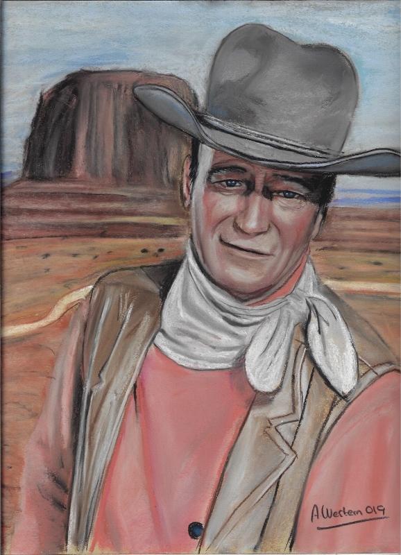 John Wayne by western61